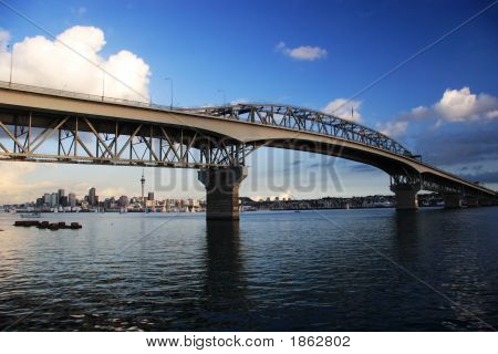 Harbour Bridge In Auckland