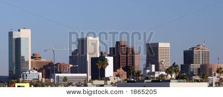 Phoenix Downtown Panorama, Az