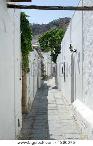 Street In Lindos