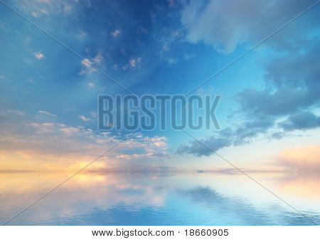 Sky background.