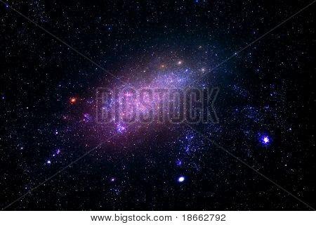 galaxia lejana