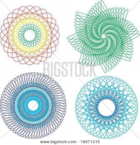 Elementos de diseño abstracto