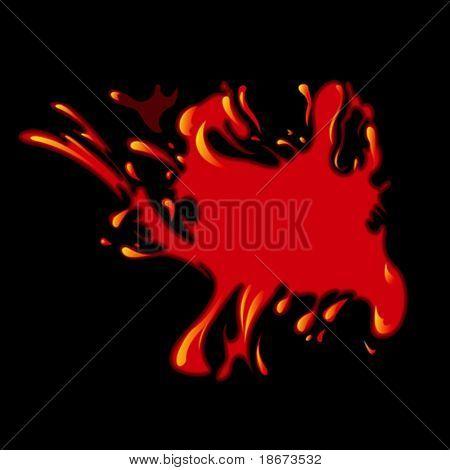 Spot. Flame. Blood.