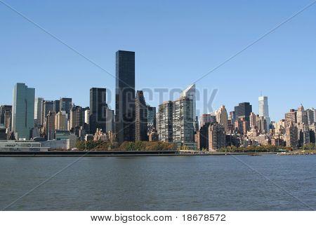 Manhattan skyline, New York City