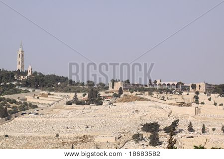 Mt. Olives,   Jerusalem, Israel