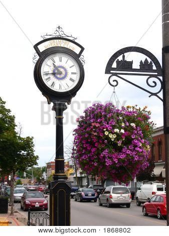 Straße Clock 80064