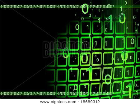 Editable abstract vector business background with space for your text