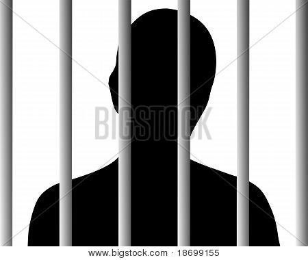 Human Behind Bars