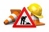 Under Construction Concept poster