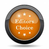 Editors Choice Icon poster
