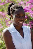 pic of cornrow  - Young african woman - JPG