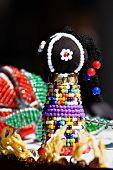 stock photo of zulu  - Traditional tribal art - JPG