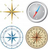pic of compass rose  - Compass - JPG