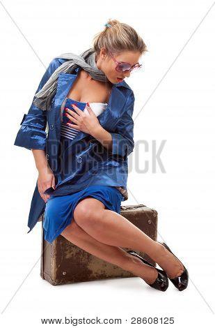 Mujer soltera viajar