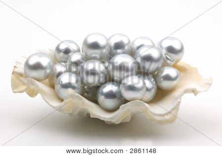 Lots Of White Pearls