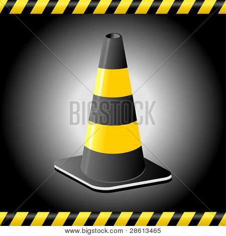 Traffic Cone Background