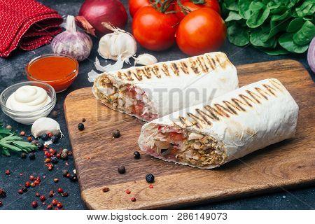 Doner Kebab shawarma Or Doner