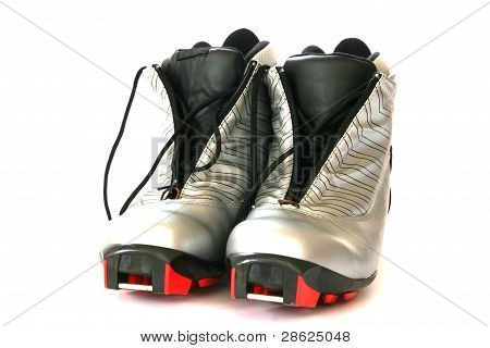 Cross country skying boots