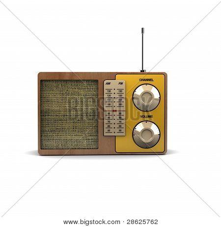 yellow radio