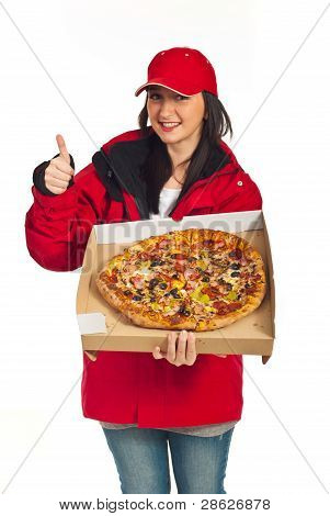 Successful Delivery Pizza