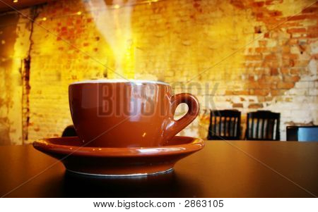Coffee Cup Steam