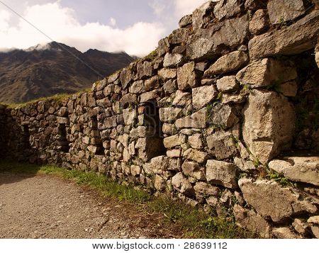 Inca building wall