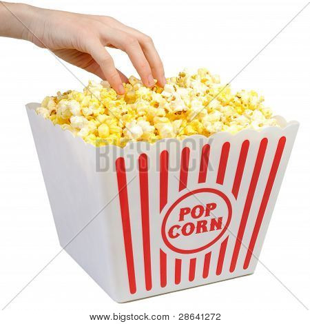 Having Some Popcorn - Large Container