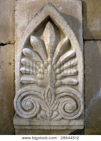 Wall Ornament On A Historic