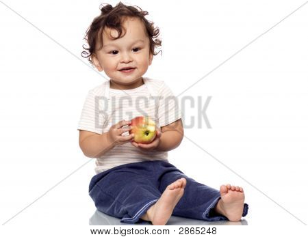 The Child With An Apple.