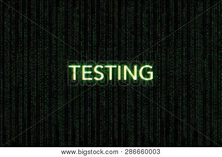 Testing Keyword Of Scrum On