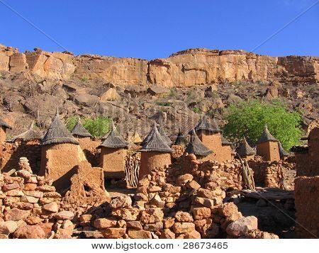 Dogon City of Mud, Mali, Africa