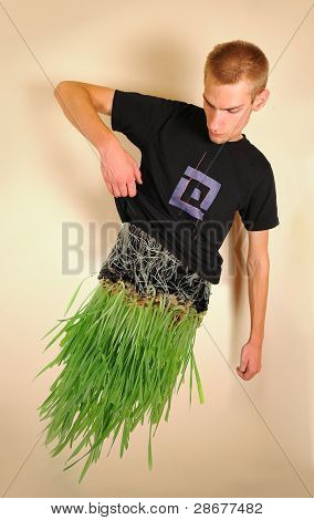 Man Made Of Grass