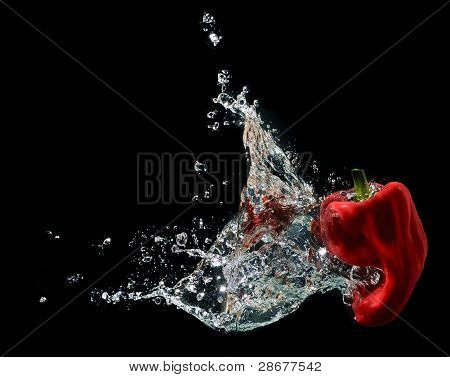 Red Hot Pepper Water Splash