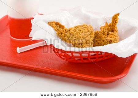 Junkfood On A Tray