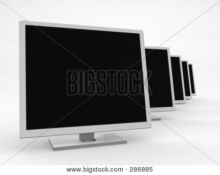 Five Monitors