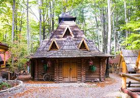 foto of front door  - Traditional wooden structure - JPG