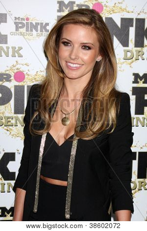 LOS ANGELES - OCT 11:  Audrina Patridge arrives at the