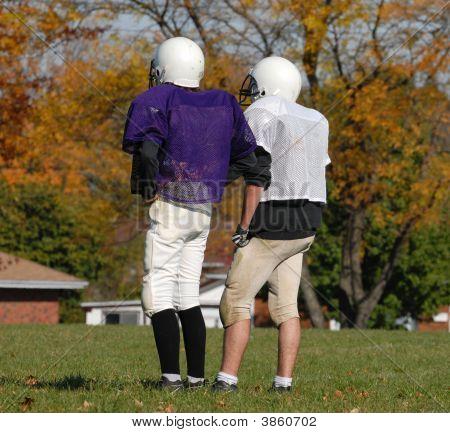 Highschool Football Practise