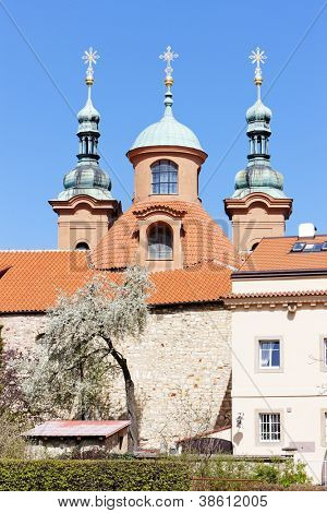Church of Saint Laurent in Petrin, Prague, Czech Republic