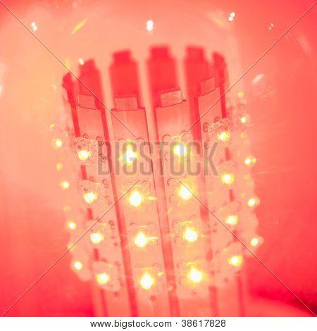 lâmpada LED de luz