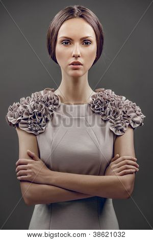 fashion beautiful glamour girl