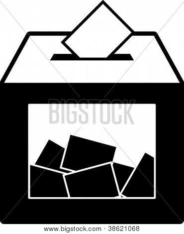 ballot box symbol