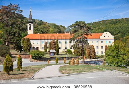 New Chopovo (Novo Hopovo) Monastery in Fruska Gora mountain in the province of Vojvodina, northern Serbia