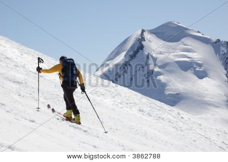 Backcountry Skier