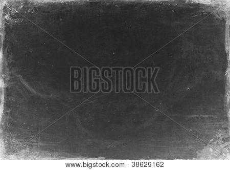 Black paper sheet texture