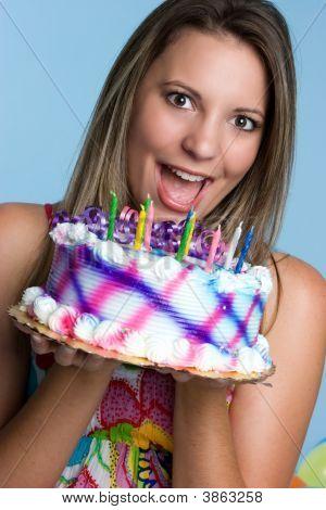 Geburtstag Kuchen Mädchen