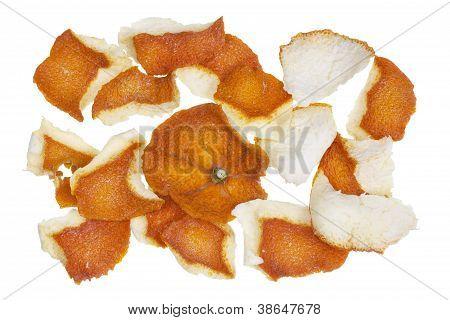 Dry Dusty Orange Peel