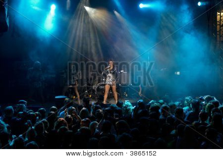 Rock Concert Of  Singer Anita Tsoy