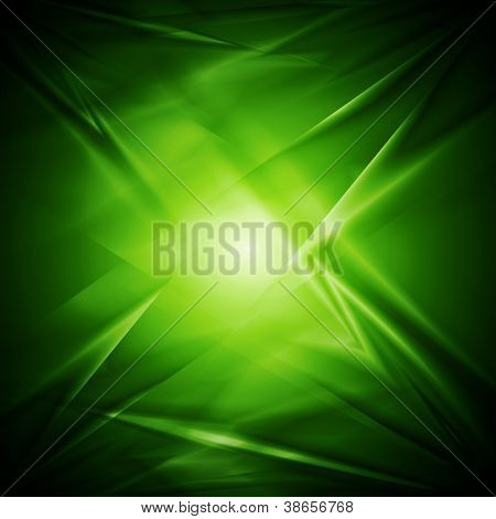 Bright green elegant background. Vector illustration eps 10