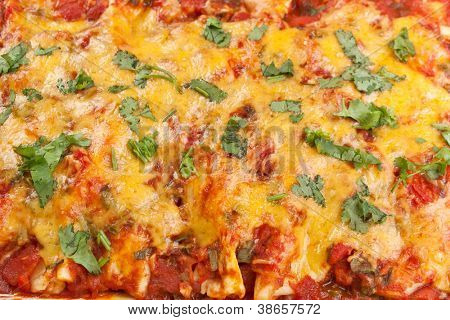 traditional mexican food enchiladas texture